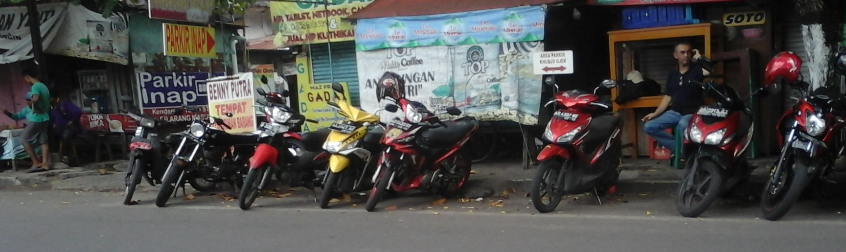 Ricuh GoJek di Jakarta tidak mempengaruhi aktivitas pengojek di Yogyakarta.