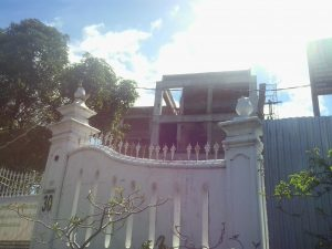 Fave Hotel tengah dibangun di Jalan I Dewa Nyoman Oka kawasan Kotabaru.