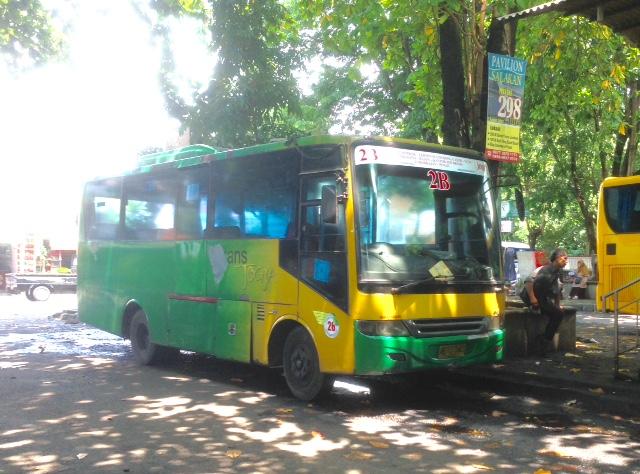 Mesin dan body Bus Trans Jogja generasi pertama menjadi prioritas armada yang akan direkondisi oleh PT AMI.