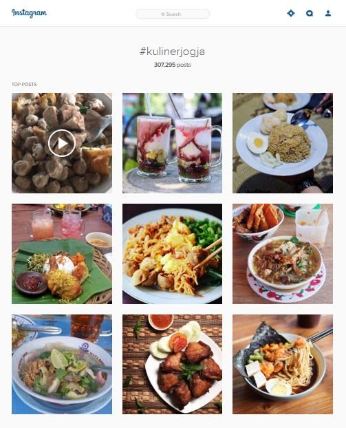 Promosi Kuliner Lewat Instagram Di Yogyakarta Warga Jogja