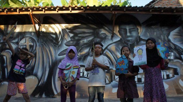 Belajar Seni Sejak Dini di Desa Bangunharjo