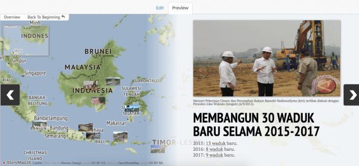 Pembangunan Waduk oleh Pemerintahan Jokowi