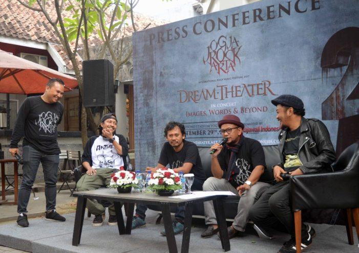 JogjaROCKarta Bakal Menampilkan Dream Theater di Candi Prambanan