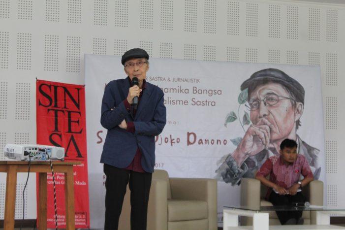 Seminar Nasional Jurnalisme Sastra: Menyampaikan Berita dengan Bercerita