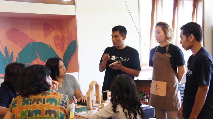 Workshop Love of Leather Akrabkan Proses Produksi Kulit ke Konsumen