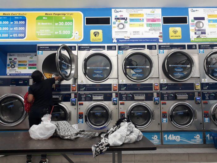 Menjajal Clean Pro, Self-Service Laundry Pertama di Yogyakarta