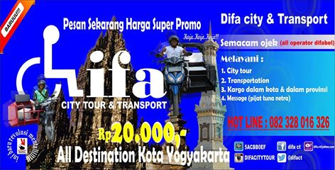 Difa, Transportasi Bagi Difabel