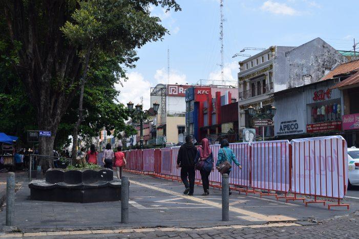 Relokasi Zona Parkir Malioboro Berjalan Lancar