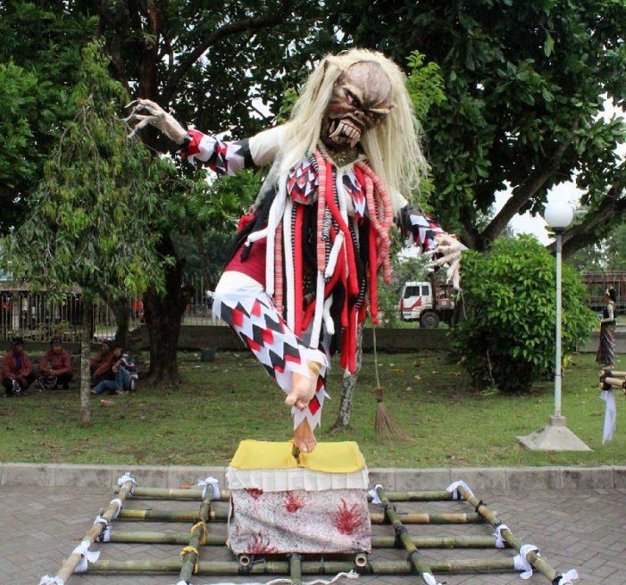 Festival Ogoh-ogoh di Sleman Sambut Perayaan Nyepi
