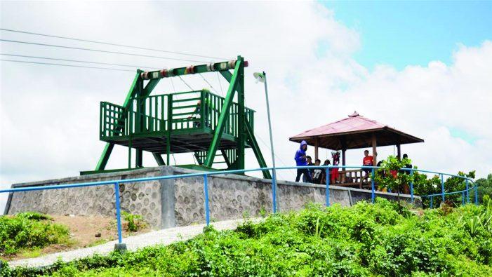 Flying Fox Green Village Gedangsari Siap Dinikmati Wisatawan