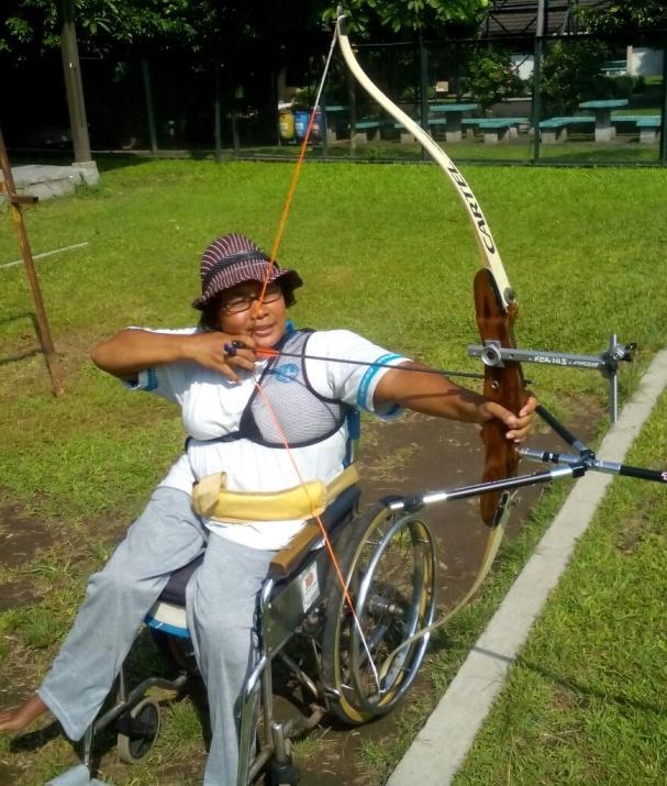 Semangat Juang Srikandi Asal Sleman, Menyambut Pekan Paralympic Yogyakarta 2017